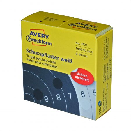 Avery Zweckform shootpatch- White